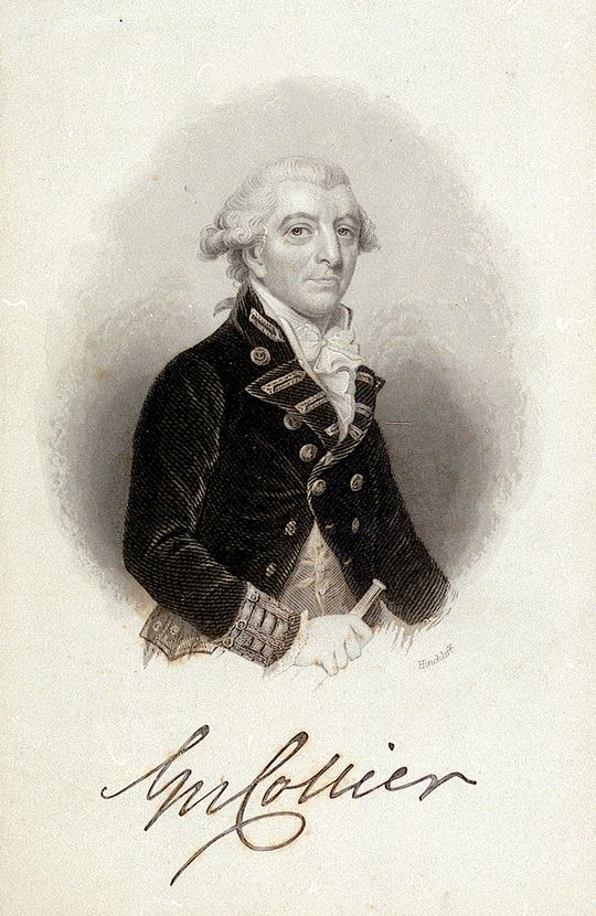 Captain George Collier trapped, destroyed and forced the Americans the scuttle their entire fleet.