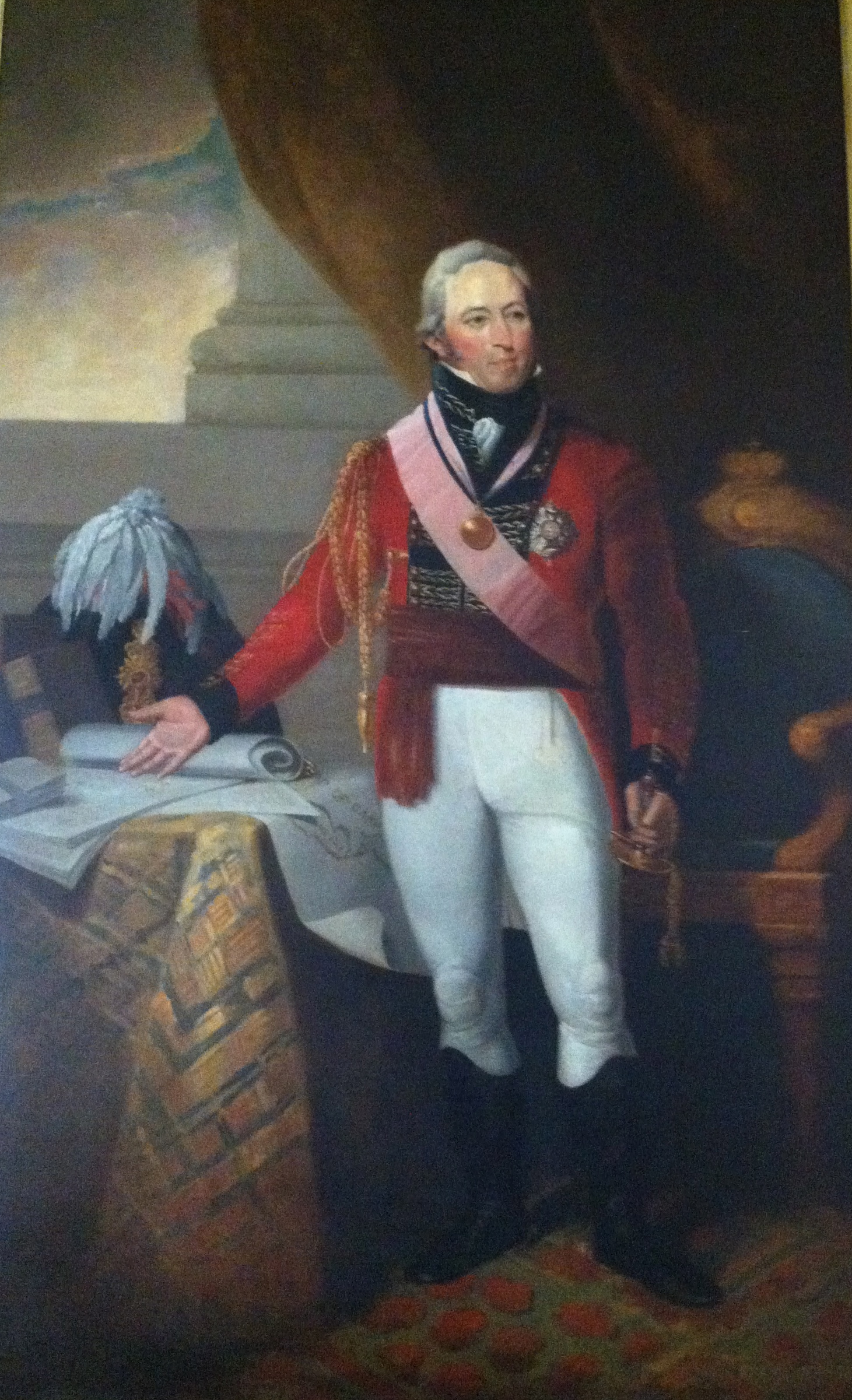 Sir John Sherbrooke: inspiration for the unconquerable Canadian Fort Sherbrooke. Founder of Dalhousie University in Halifax with the tariffs collected by the fort.