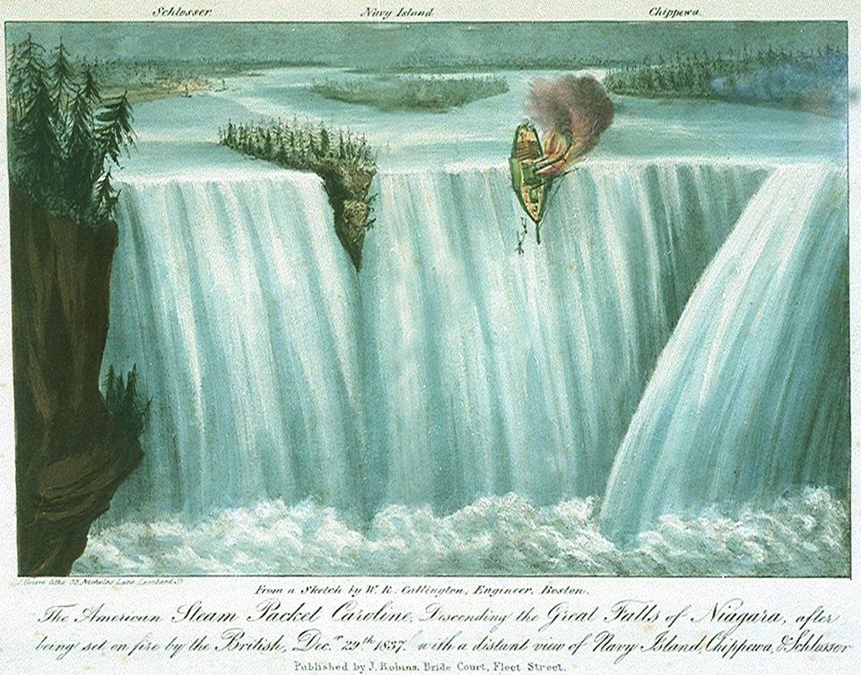 Scuttling the Caroline (1837)