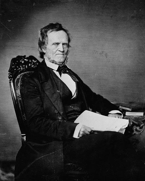 William Lyon Mackenzie: not a fan of the monarchy, and his scowl backs it up.