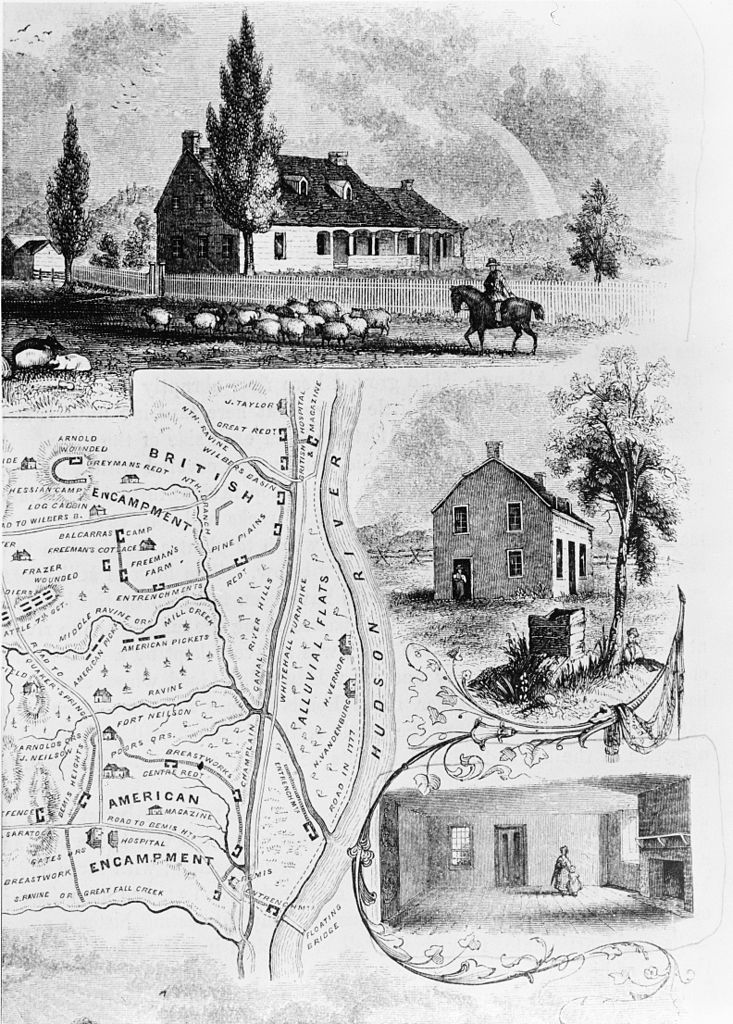 American perspective of the the British army's campaign to reclaim the Hudson Valley