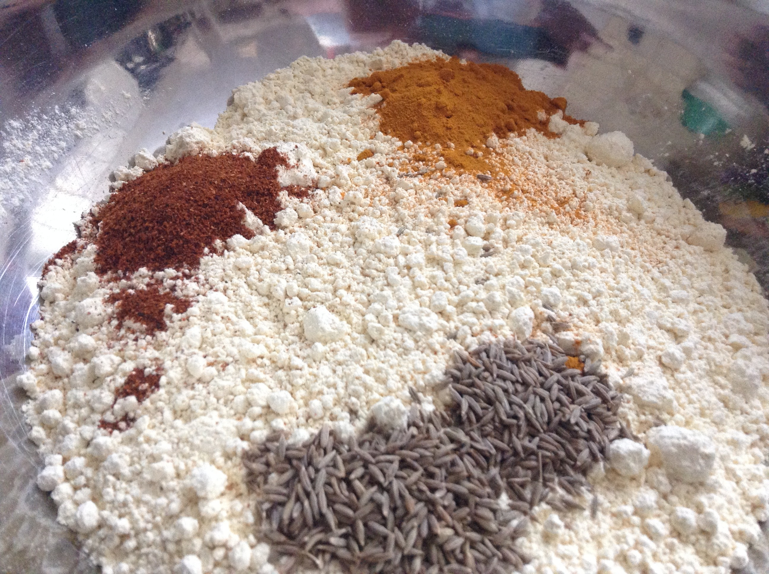 Bhaji dry mixture